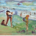 el Mar,  la Playa, loa Bañistas