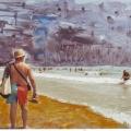 el Mar,  la Playa, los Bañistas0003