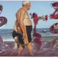 el Mar,  la Playa, los Bañistas0014