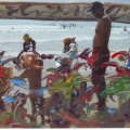 el Mar,  la Playa, los Bañistas0015