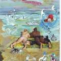 el Mar,  la Playa, los Bañistas0018